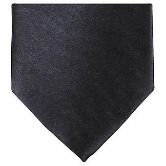 Knightsbridge Neckwear régulière cravate Polyester - noir