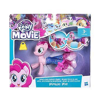Min lille Pony film Pinkie Pie jord og hav mode stilarter
