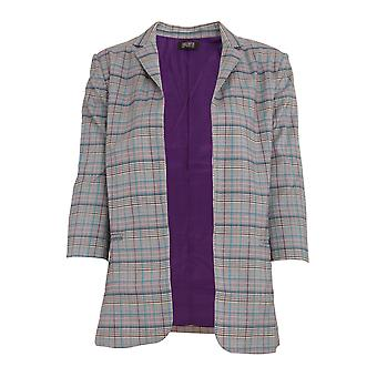 Ragazze su film donna/Ladies Avenue check Blazer