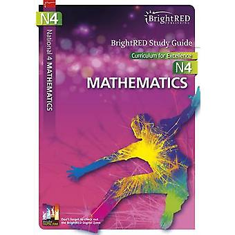 BrightRED Study Guide National 4 Mathematics - N4 by Brian Logan - 978
