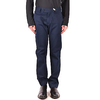 La Martina Ezbc259015 Men's Blue Cotton Pants