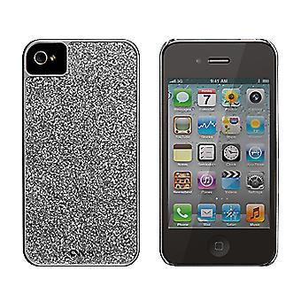 Kotelo-Mate glam Cover kotelo iPhone 4/4S (hopea) (Bulk Packaging)