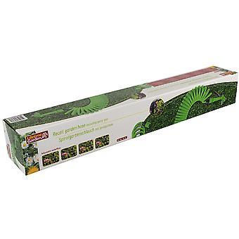 Garden hose 15mtr & spray gun Plastic Green