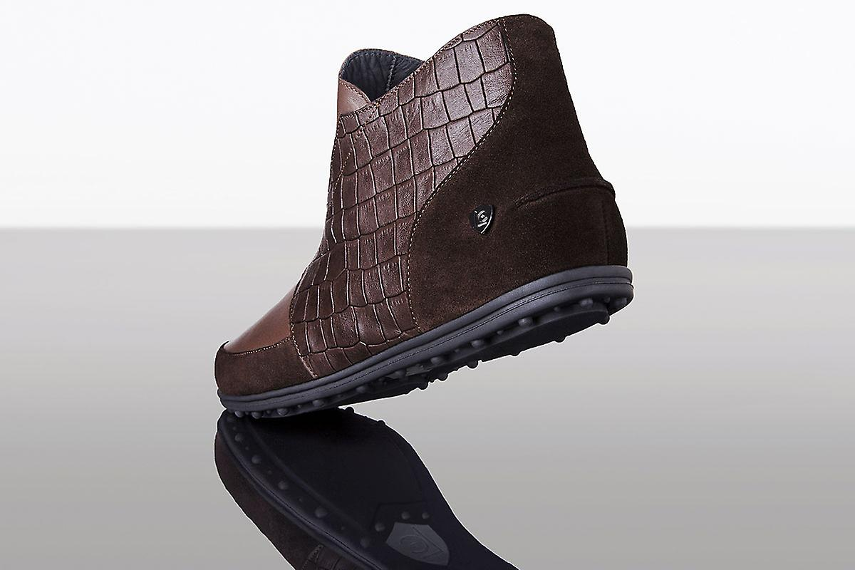 High Sneaker Brown