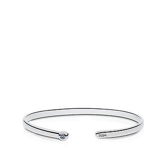 St Louis Cardinals indgraveret Sterling Sølv Hvid Sapphire Cuff armbånd