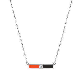 San Francisco Giants Diamond under halsband i Sterling Silver design av BIXLER