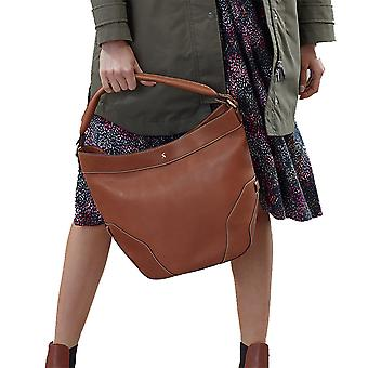 Joules Womens Lowesby Slouchy Hobo Style Leather Hand Bag