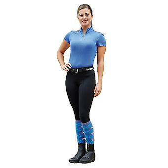Dublin Performance Flex Knee Patch Womens Riding Tights - Black
