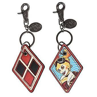 Key Chain - DC Comic - Harley Quinn Faux Leather Keychain New DCCL210