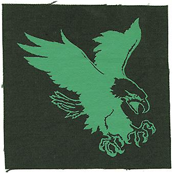 Patch - Animals - Turquoise Eagle on Green Iron On Gifts New Licensed p-1956-c
