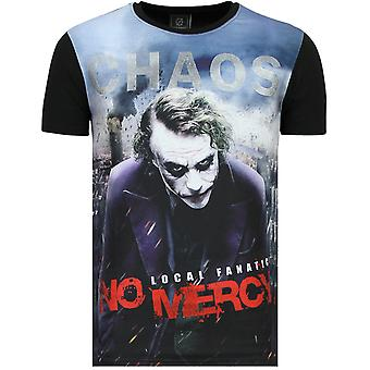 Le T-Shirt Joker - Chaos No Mercy - Noir