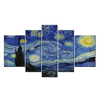 Starry Night, Vincent Van Gogh, 180x100 cm