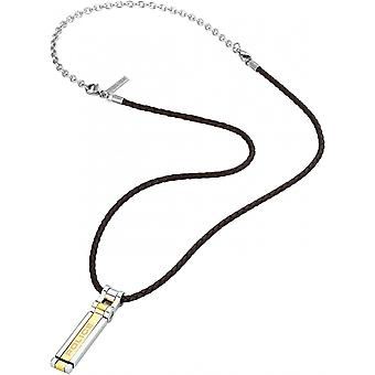 Police Men's Stainless Steel Pendant Necklace S14ANE11P