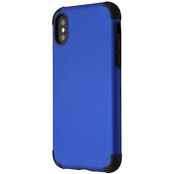 Verizon rubberized ohut kotelo iPhone XS/X-sininen/musta