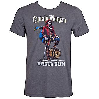 Captain Morgan épicé rhum gris tee shirt