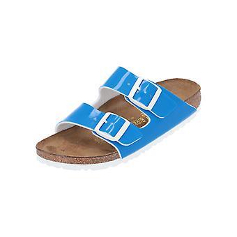 Birkenstock Arizona BF Laca Neon Azul Sandalias de Mujer Zapatos de Verano Azul NUEVA Venta