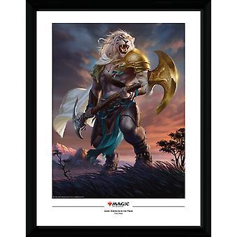 Magic The Gathering Ajani styrke av Pride Collector print 30.5 x41cm