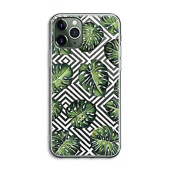 iPhone 11 Pro Max Transparent Case (Soft) - Geometric jungle