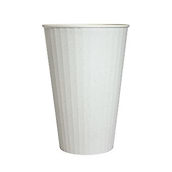 Tazza in fibra di bambù, 380 ml-bianco