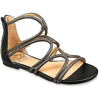 Fergalicious Womens Vivian Open Toe Casual Gladiator Sandals