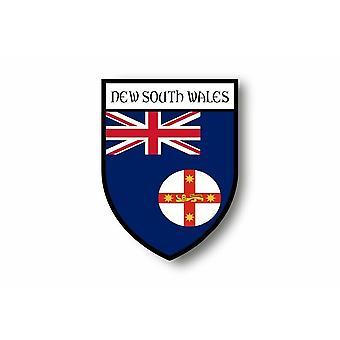 Sticker Sticker Motorcycle Blason Flag Australia New South Wales