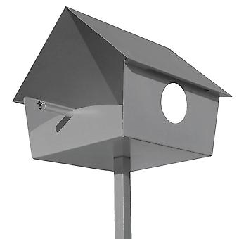 RAGGIO birdhouse peep show XXL argento - 529 un