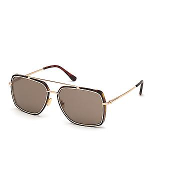 Tom Ford TF750 52J Dark Havana/Roviex Sonnenbrille
