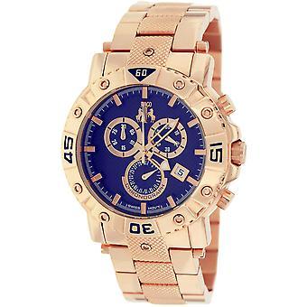 Jivago Men's Titan Blue Dial Watch - JV9126