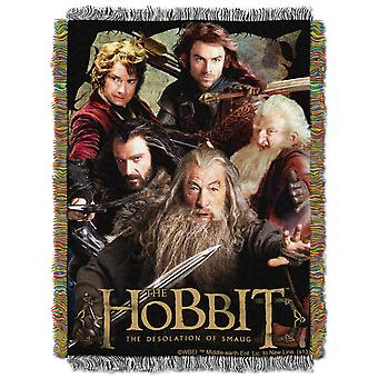 Tapestry Throw - The Hobbit - Fighting Company (48x60