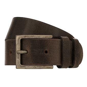 Teal Belt Men's Belt Leather Belt Jeans Belt Brown 8340