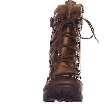 Rock & Candy Womens DANLEA Round Toe Ankle Cold Weather Boots