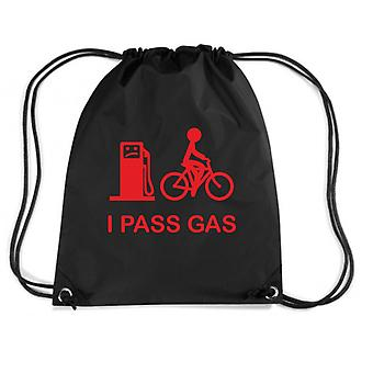 Black backpack fun2070 the gas passes