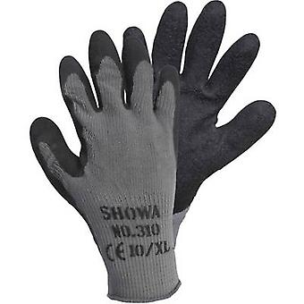 Showa Grip Black 14905-9 Cotton, Polyester Protective glove Size (gloves): 9, L EN 388 CAT II 1 Pair