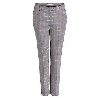 Oui Checked Trouser - 67236