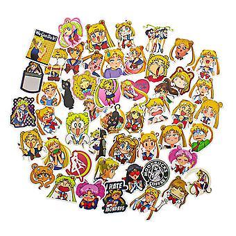 50x Stickers - Sailor Moon