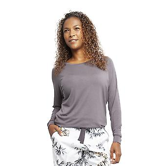 Cyberjammies 4355 Frauen's Willow grau Modal Slouch Pyjama Top