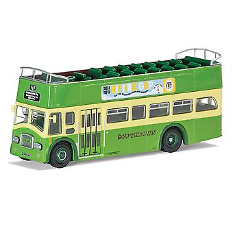 Leyland PD3 197 Eastbourne via & Birling Gap Diecast Model Bus