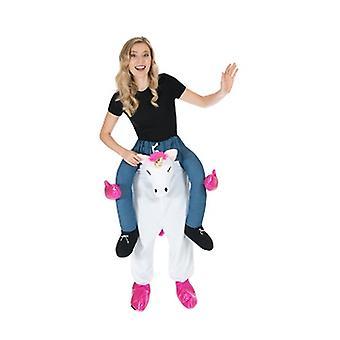 Einhorn Huckepack Trag mich Reiter Kostüm