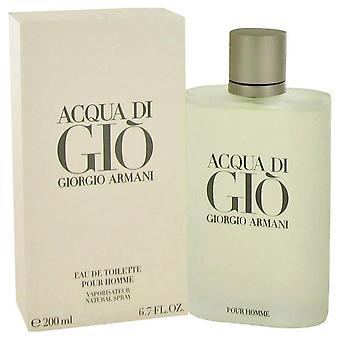 Acqua di gio eau de toilette spray by giorgio armani 416545 200 ml