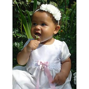 Christening Dress Grace Of Sweden, Grace Princess With Short Sleeve
