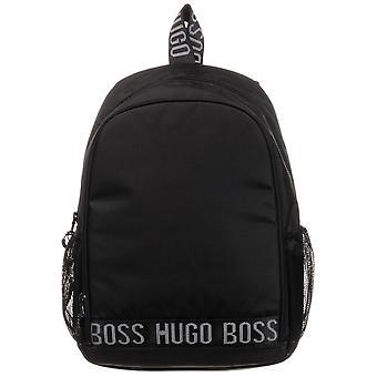 Hugo Boss Kids Stripe Logo Backpack