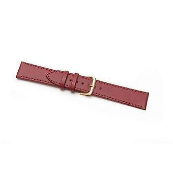 Cinghia orologio in pelle extra lungo collezione di economia cucita rossa