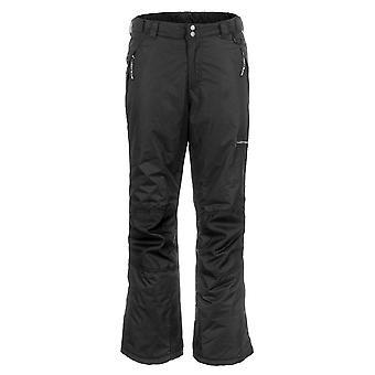 Lucky Bums Jugend Schnee Skihose mit verstärkten Knien und, schwarz, Größe groß