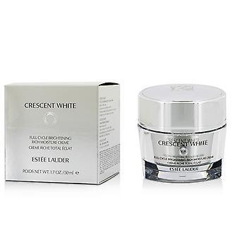 Estee Lauder Crescent valkoinen koko ajan kirkastaa runsaasti kosteutta Creme 50ml/1.7 oz