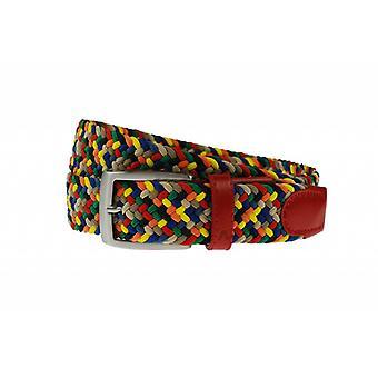 Cintura di webbing multicolore Summertime