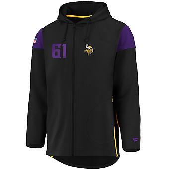 Iconic Franchise Full Zip NFL Hoodie - Minnesota Vikings