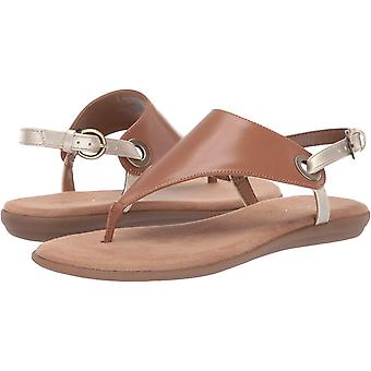 Aerosoles Women's in Conchlusion Flat Sandal, TAN GOLD, 6 M US