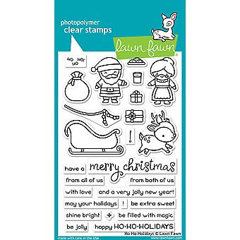 Lawn Fawn Ho-Ho-Holidays Clear Stamps