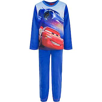 Disney Autos Jungen samt Velour Pyjama Set