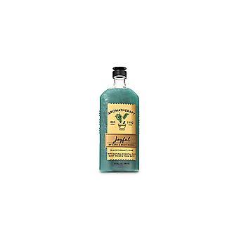 (2 csomag) Bath & Body Works Aromaterápia Fekete Ribizli Fenyő Testmosó és Hab fürdő 10 fl oz / 295 ml